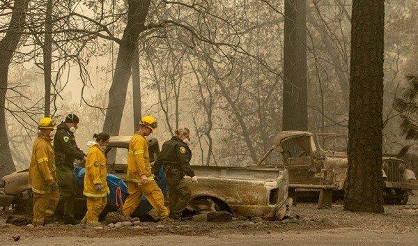 加州野火59死130人失踪 火势仅控制约35%