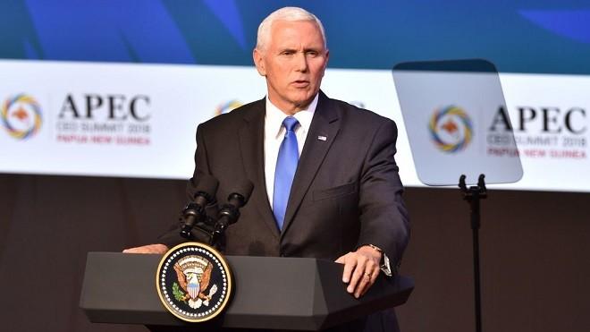 APEC峰會美中交鋒 彭斯當面嗆聲習近平