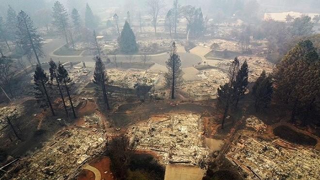 加州野火釀79死逾千人失蹤 雨季將臨或引土石流