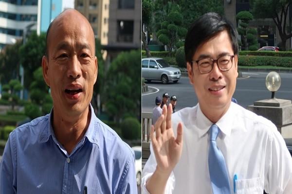 直球对决 高雄市长候选人韩国瑜、陈其迈电视辩论(直播回放)