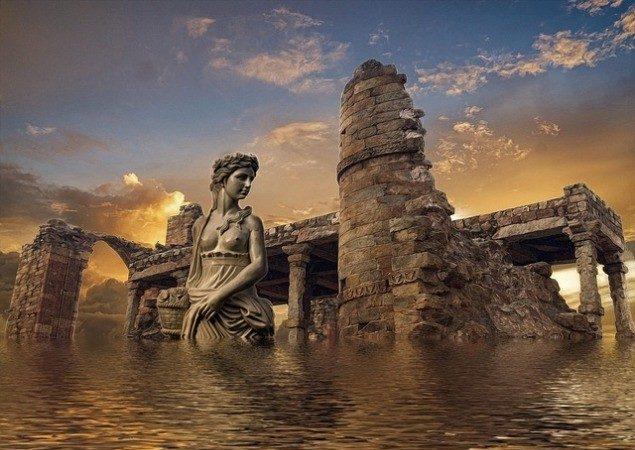 西班牙海岸现史前巨型混凝土 疑为亚特兰提斯文明遗迹