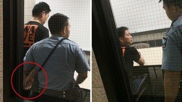 劉強東現身被問強姦案 京東高管幫忙解圍