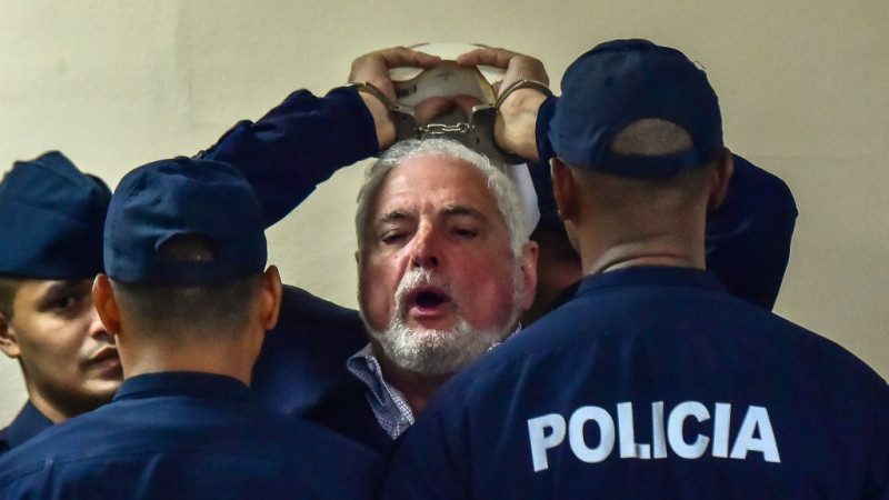 涉贪遭控洗钱 巴拿马前总统两子在美被捕