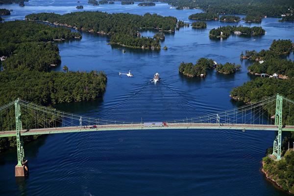 法国探险家发现的世界级景观 美国千岛湖