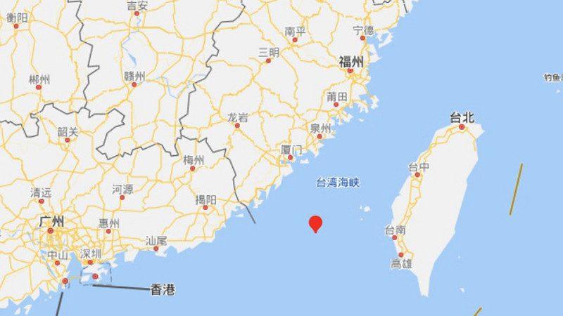 台湾海峡罕见6.1强震 大陆民众惊逃避险