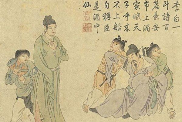 詩仙軼事:李白也是翻譯高手