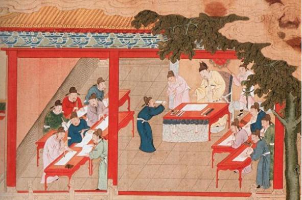 中國古人如何求學和選拔人才?
