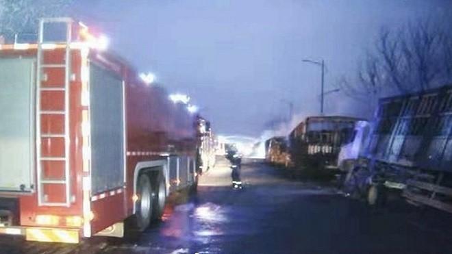河北张家口特大爆炸 已酿23死22伤(视频/组图)