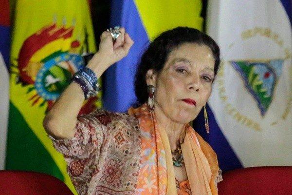 涉貪腐鎮壓破壞民主 美制裁尼加拉瓜第一夫人