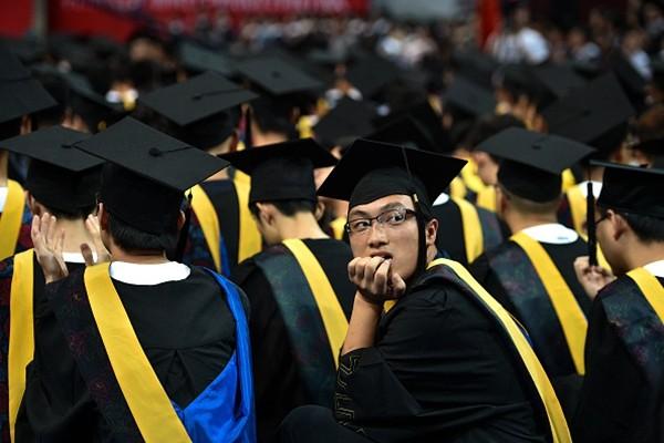 中共經濟內憂外患 陸820萬大學生恐「 畢業就失業」