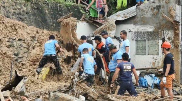 年末罕见热带低气压来袭 菲律宾多地山泥倾泻已68死