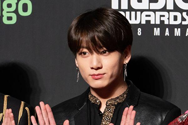 BTS柾国获选全球最帅男子Top 10唯一韩星