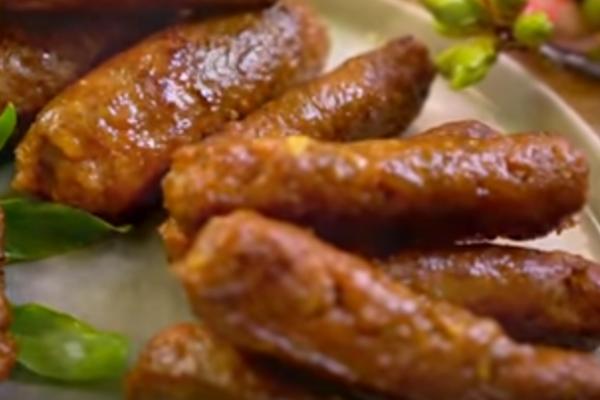 免腸衣台式香腸 簡單製作 一次學會(視頻)