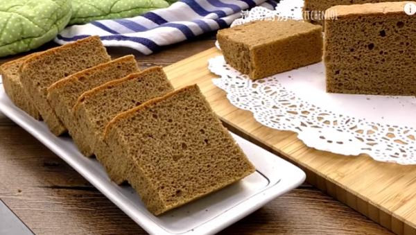 咖啡海綿蛋糕 鬆軟美味(視頻)