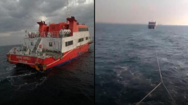 東海凌晨發現「鬼船」 內部奢華無人影