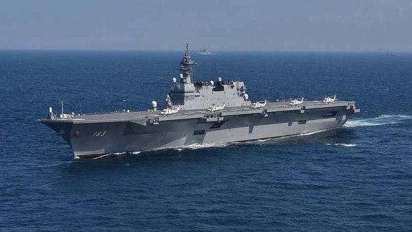 中共扩张引邻国警惕 日启用两航母增购F35战机