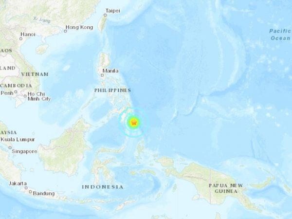 菲南外海7.0地震 震央方圆300公里或现小海啸