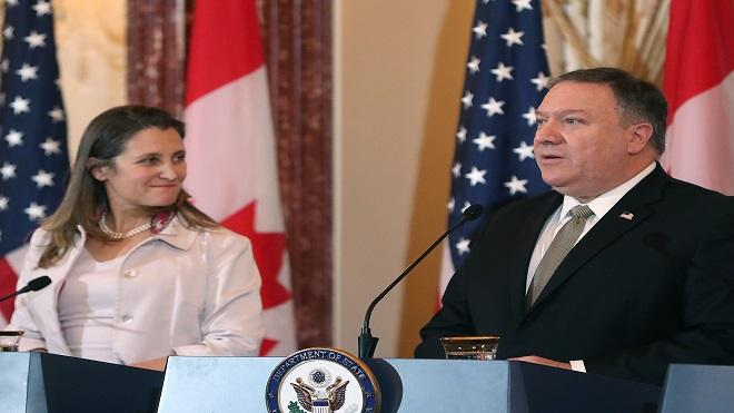 """分化美加孤立白宫?党媒威胁加拿大:中共""""后手牌多"""""""