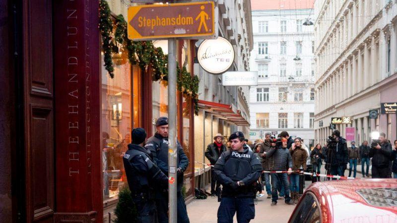 维也纳惊传枪响1死1伤 警全城搜捕枪手