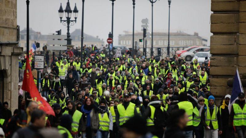 法國黃背心抗議進入第7回合 人數大減