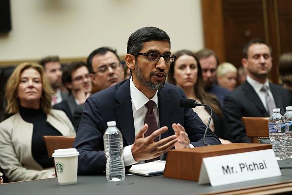 """接受国会议员""""拷问""""   谷歌CEO矢口否认重返中国推蜻蜓计划"""