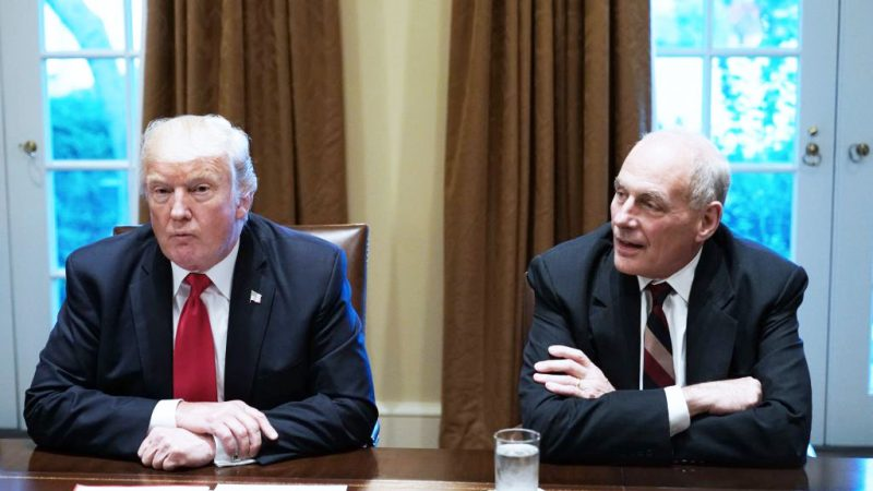 白宫幕僚长年底换人 老布希阁员回锅任司法部长