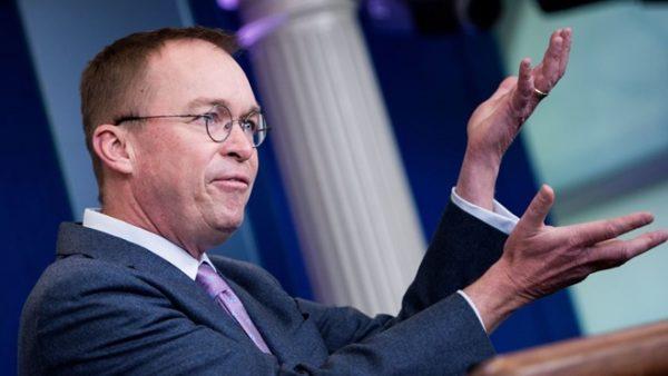 坚持修墙 白宫预算主任:川普或调降预算