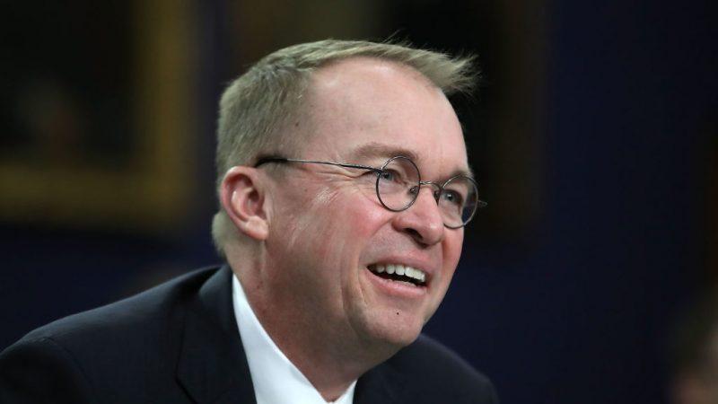 川普宣布代理白宫幕僚长人选 预算总监升职