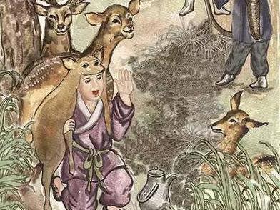 中華傳統美德故事:郯子鹿乳