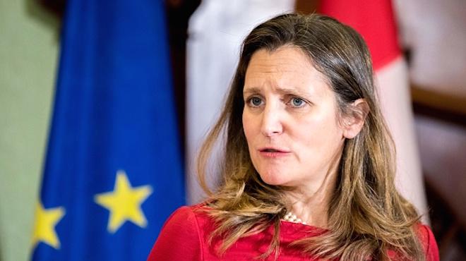 加拿大强硬声明要中共放人 美英欧盟齐声援