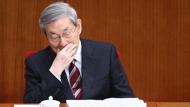 """浙江省长打喷嚏绷断""""皮带"""" 朱镕基嘲讽:报应"""