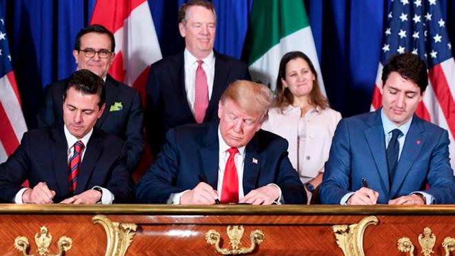 美墨加正式签署协议 北美新贸易市场即将形成