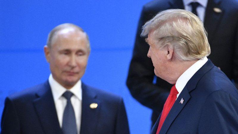 """乌克兰事件 普京G20压力罩顶  向川普""""简短""""解释"""