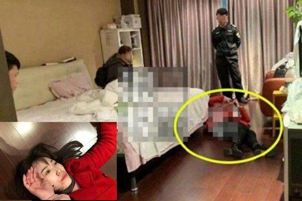 王寶強住處監控曝光 神秘男友背馬蓉狂奔出院