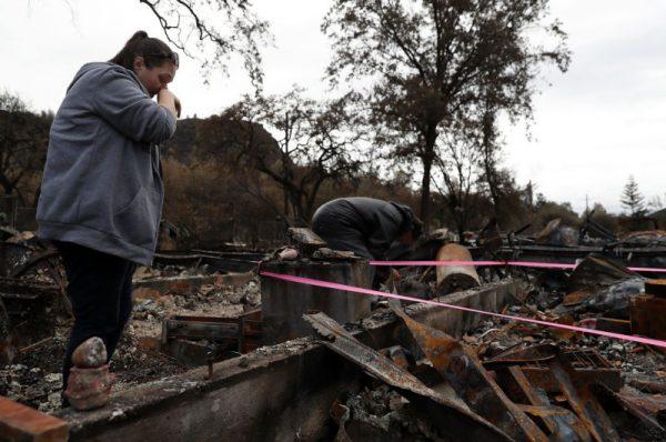 美加州致命野火 失踪人口从1200人降至25人
