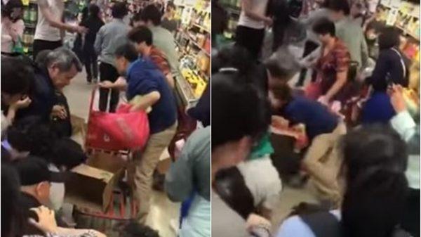 中国大妈抢奶视频热传 澳洲人看呆