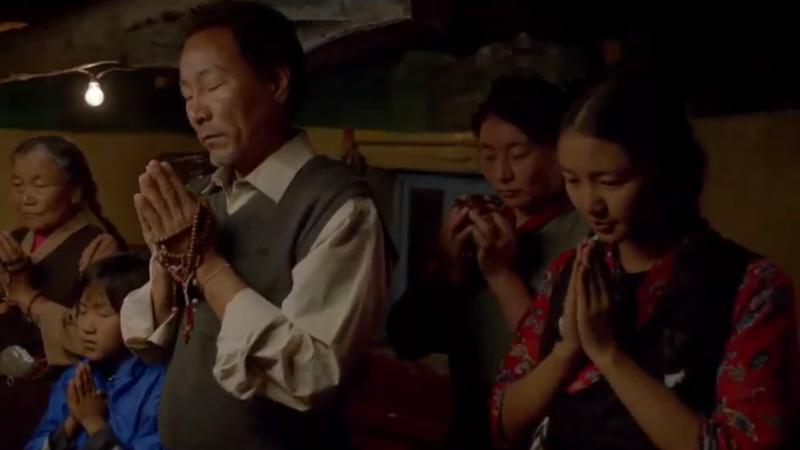 西藏电影登台 聚焦藏民争自由面临生存困境(视频)