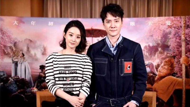 趙麗穎婚後首次表白馮紹峰 網友「最好的愛情」