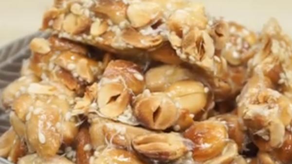 懷舊花生糖 香甜脆卜卜 自製超簡單(視頻)