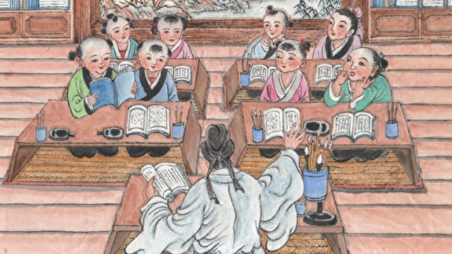 《幼学》故事(5)吴牛喘月
