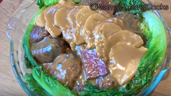 鲍鱼烩冬菇 美味贺年菜(视频)