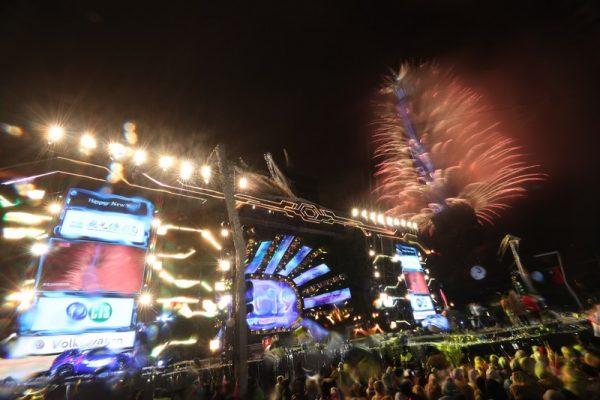 台北101璀璨跨年烟火秀 展现多元与文化