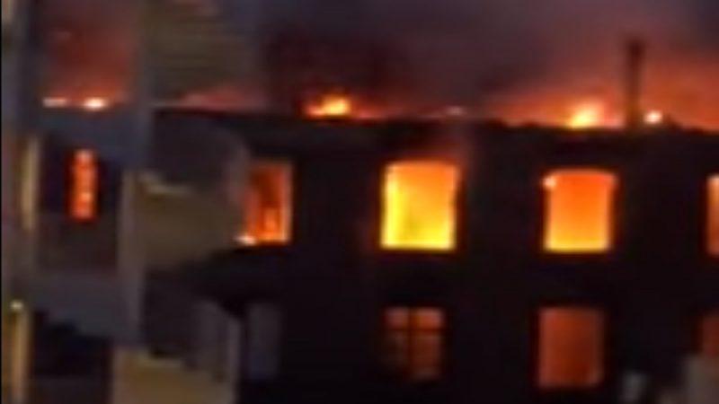 法西南部公寓大火 部分建筑物倒塌酿22伤