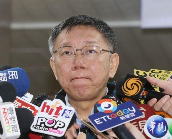 陳思宇敗選 柯文哲:與選前民調差不多 無關組黨