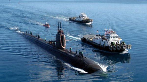 中共战略核潜艇意外曝光 疑缠绕越南渔网