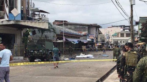 菲南天主教堂惊传连环爆 酿27死77伤