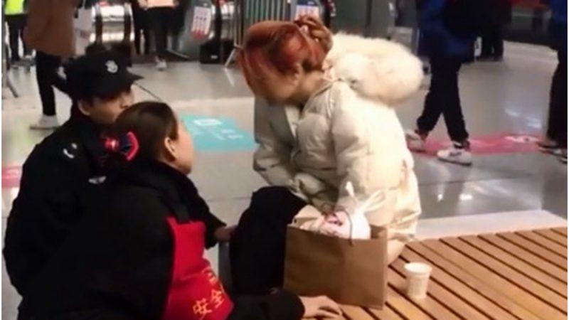 陝西女生昏倒被圍拍 醒後即問:加美顏了嗎?