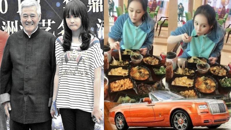 赵本山之女炫10万天价早餐 开上亿豪车引热议