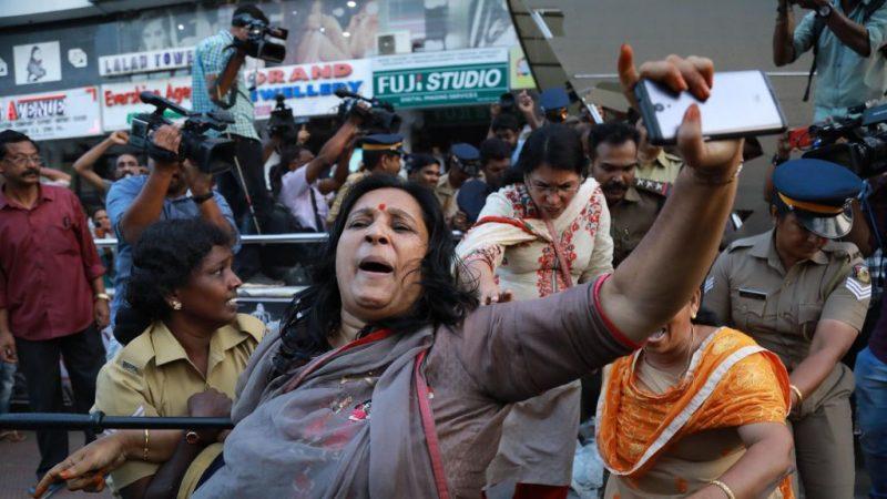 禁女性入廟 印度爆發警民衝突