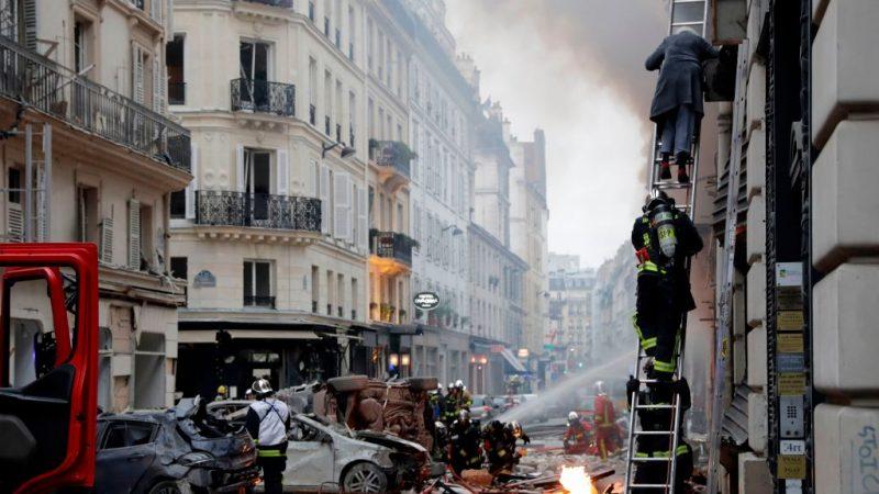 巴黎市中心麵包店爆炸 威力強勁至少20人傷